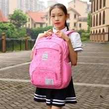 купить Girls Fashion Backpacks Female School Bags For Girls Backpack Large Capacity Waterproof Schoolbag For Teenage Student Bolso niña дешево