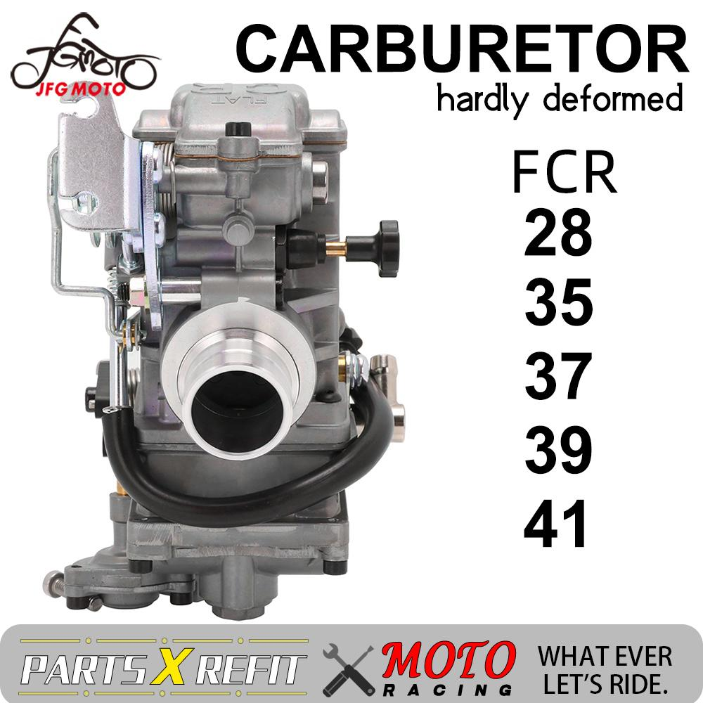 Motorcycle <font><b>Carburetor</b></font> FCR28 35 37 39 41mm Flatslide <font><b>Carburetor</b></font> FCR39 For KTM XR DR400 CRF450 CRF650 KLX 400 <font><b>450</b></font> YZ450F image