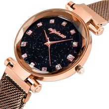 Роскошные брендовые модные женские часы роскошные золотые с