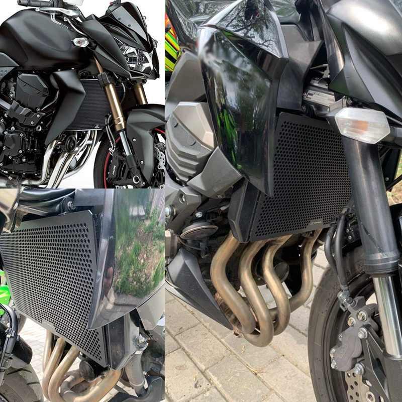 Motorfiets Radiator Cover Grille Guard Gill Rvs Cover Protector Voor Kawasaki Z750 Z800 Z1000 Water Tank Bescherming