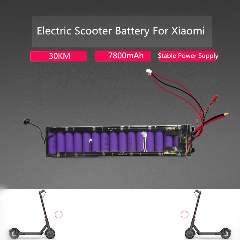 36V 7800mAh 30KM Power Supply Battery Cells For Xiaomi Mijia M365 Electric Scooter New Electric Scooter Battery Power Supply