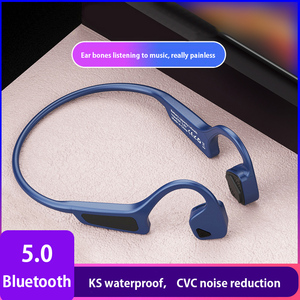 Image 1 - High Quality Bone Conduction Headset Wireless Bluetooth 5.0 Wireless Headphones sport Waterproof bluetooth wireless earphones