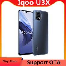 Dhl entrega rápida vivo iqoo u3x 5g telefone celular 6.58