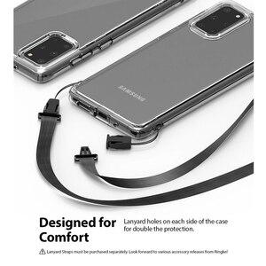 Image 4 - Ringke Fusion for Galaxy S20 Plus 실리콘 케이스 유연한 Tpu 및 투명 하드 PC 뒷면 커버 Hybrid for Galaxy S20 +