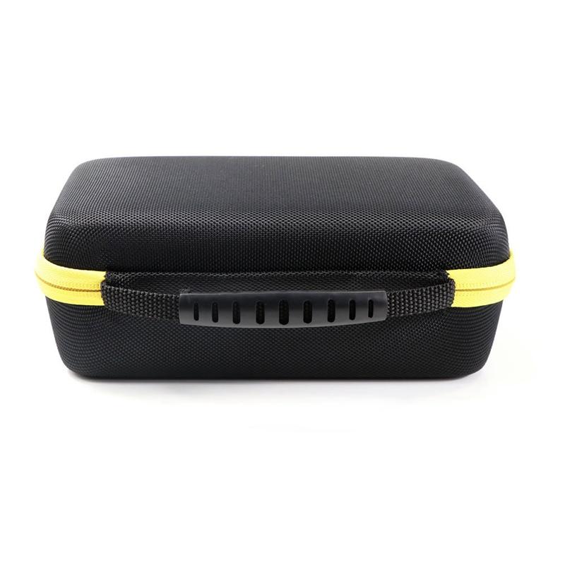 1pc Black Shockproof EVA Hard Case Storage Carry Bag For F117C/F17B Digital Multimeter Protective Organizer 230*140*75mm