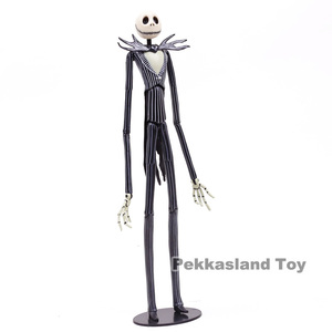 Image 3 - The Nightmare Before Christmas Deluxe Jack Skellington with Interchangeable Heads Action Figure Collectible Model Toy Gift 35cm