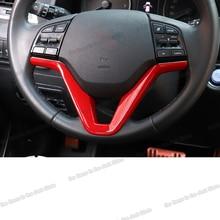Lsrtw2017 Abs Car Steering Wheel Button Frame Trims for Hyundai Tucson 2015 2016 2017 2018 2019 2020 Interior Accessories Auto lsrtw2017 abs car rearview rain shield strip trims for hyundai tucson 2015 2016 2017 2018 2019 2020
