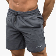 Summer New Mens Fitness Shorts Fashion Casual Gyms Bodybuild
