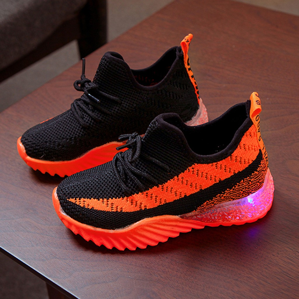 LED Comfort Cool Run Sport Sneakers 3