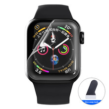 Hydrogel-Film Screen-Protector Apple Watch Not-Tempered-Glass for SE 6-5/4 40mm 44mm