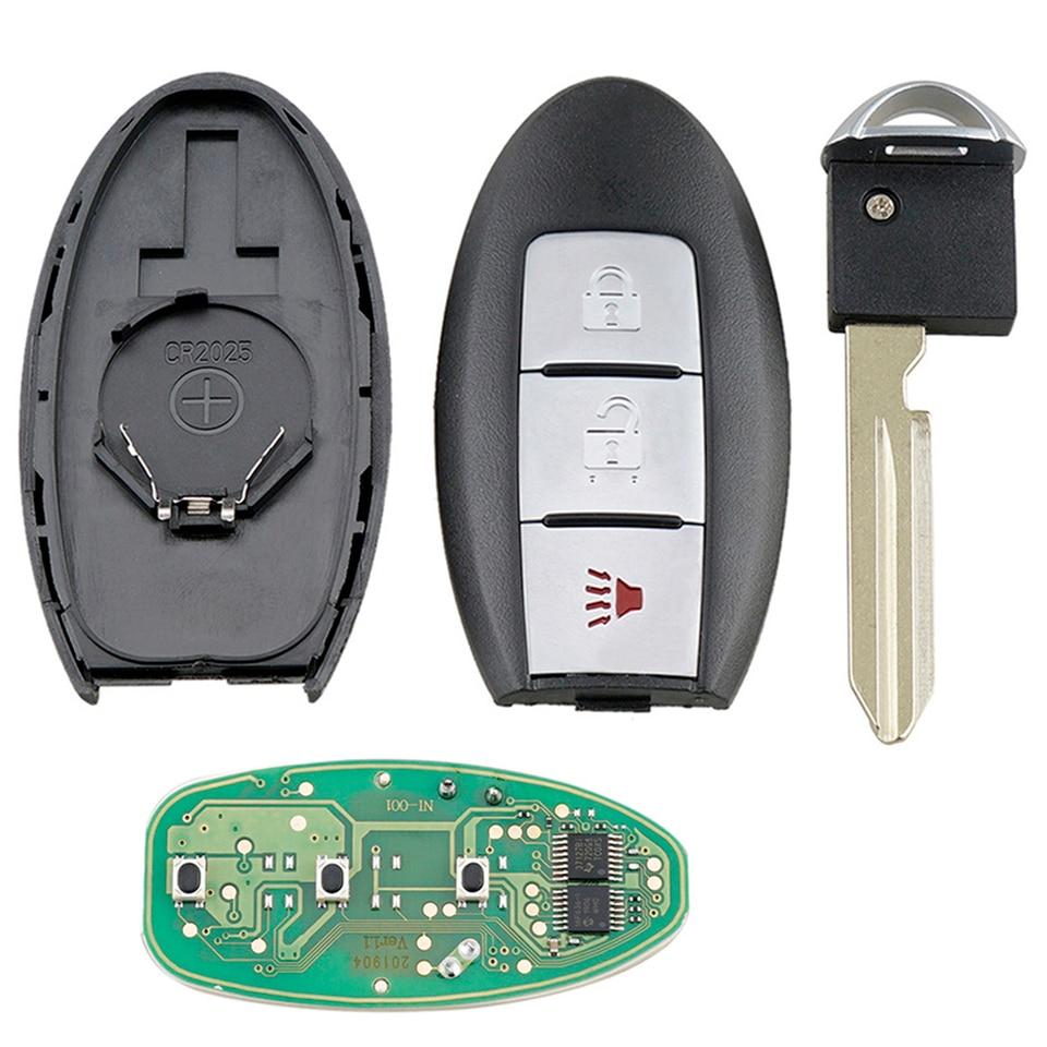 Negro Reemplazo 3 botones Entrada sin llave Caja de llave Mando a distancia de llave Llavero Cascara de llave de control remoto para MAZDA 3 6 MPV Protege 5 R SODIAL