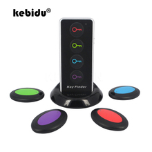 Kebidu 4 in 1 고급 무선 자동차 키 파인더 수신기 원격 제어 로케이터 안티 분실 전화 지갑 송신기 multifunctio