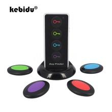 kebidu 4 in 1 Advanced Wireless Car Key Finder Receiver Remote Control Locator Anti Lost Phone Wallets Transmitter Multifunctio