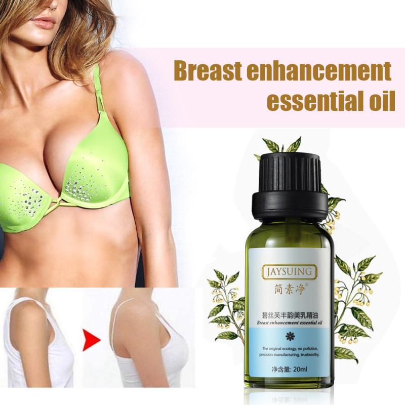 20ml aceite esencial para aumento de busto pecho elevación promover las hormonas femeninas Levantamiento de pecho masaje reafirmante tamaño busto cuidado TSLM1