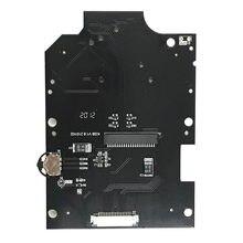 Placa de botones negra, Cable de cinta, pantalla LCD, soporte de pantalla LCD, lente de cristal para clásico de GB, DMG, IPS, Kits de pantalla LCD, accesorios