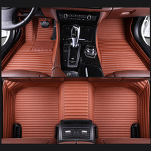 hexinyan custom car floor mats for jaguar all models xel xf xe f pace xjl f type xk xfl car accessories auto styling Custom fit Car floor mats for Tesla Model S Model X Model 3 2015 - 2019 fit Jaguar F-PACE F-TYPE XF XJ XE XFL car-styling carpet