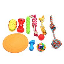 10PCS Dog Chew Rope Toys Supporting Perfect for Aggressive Chewers and Playful вира aggressive cut 800245