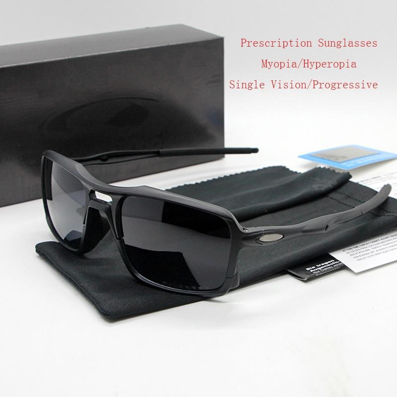 HDCRAFTER Polarized Prescription Sunglasses Diopter Men Degree Myopia Hyperopia Sun Glasses Sport Driving Goggles Gafas De Sol