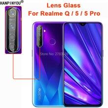 Für OPPO Realme 5/5 Pro/Q Klar Ultra Slim Zurück Kamera Objektiv Protector Hinten Kamera Len Abdeckung gehärtetem Glas Schutz Film