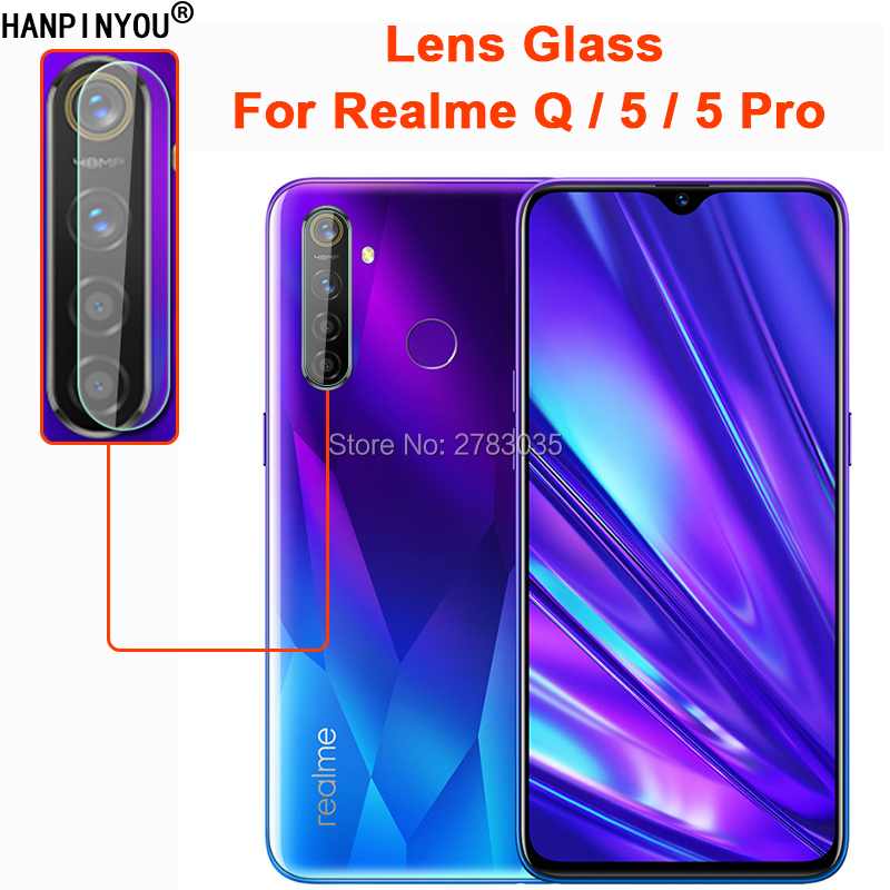 For OPPO Realme 5 / 5 Pro / Q Clear Ultra Slim Back Camera Lens Protector Rear Camera Len Cover Tempered Glass Protection Film