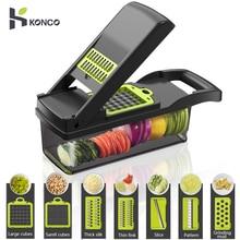 Konco многофункциональный инструмент для овощей и фруктов Картофелемялка ricer овощерезка мандолина овощерезка резак морковь измельчитель терка