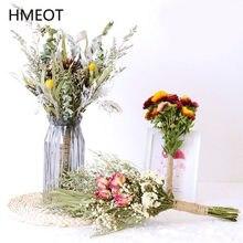 Bouquet de fleurs séchées à la main, 40cm, Arrangement de plantes, accessoires de photographie, décoration de maison, Gypsophila