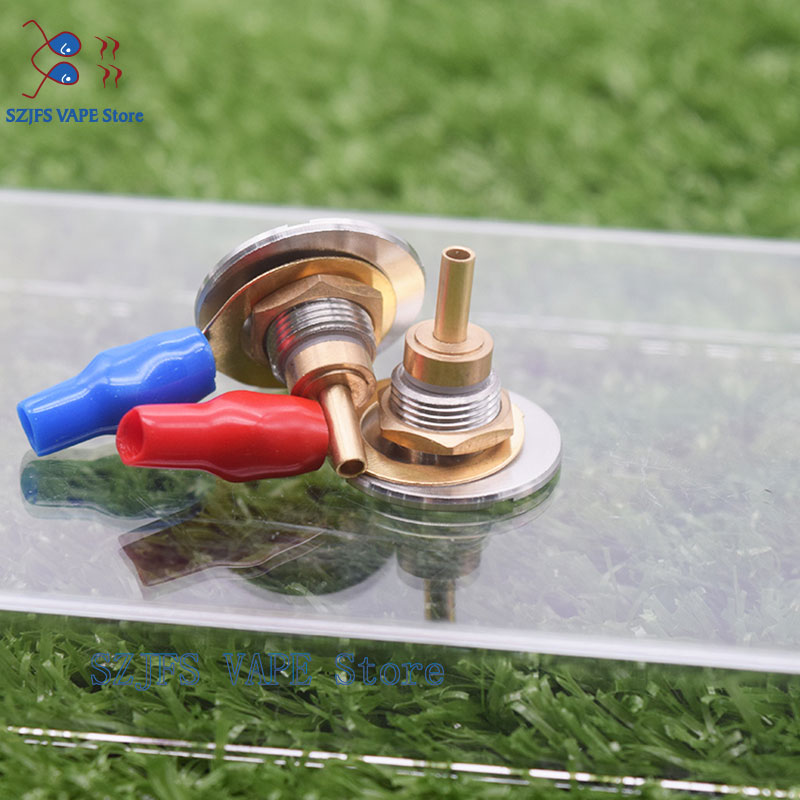 Heat Sink Metal 22mm Diameter Replacement Bottom Feeder 510 Connector DIY Tool For Mechanical Box Mod Vs Bf Bottle For Mech Mod