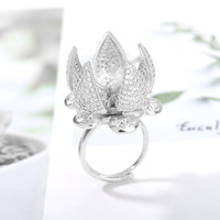 Flocaw Mechanical Flower Blooming Ring 5