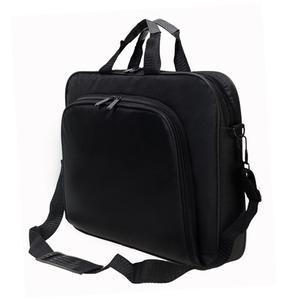 Image 3 - ALLOYSEED Бизнес сумка для ноутбука Портативный нейлон компьютер Сумки молния плечо простой ноутбук сумка Портфели черный сумка для ноутбука