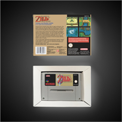 Image 2 - The Legend of Zeldaed   A Link to the Past   EUR Version RPG Game Card Battery Save With Retail Box    -