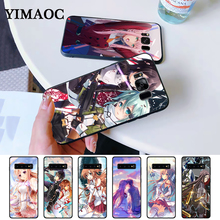 Sword Art Online SAO Japan anime Silicone Case for Samsung S6 Edge S7 S8 Plus S9 S10 S10e Note 8 9 10 M10 M20 M30