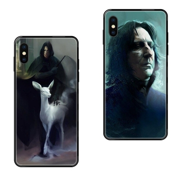 Colores Severus Snape Fashion For Galaxy A10S A20 A20S A20E A21S A30 A30S A40 A50 A70 A71 A70E A5 A6 A7 A8 A10 TPU Black Soft image