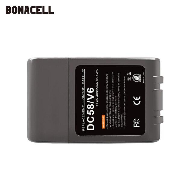 21.6V 6000mAh Replacement Battery for Dyson Li-ion Vacuum Cleaner SV09 SV07 SV03 DC58 DC61 DC62 DC74 V6 965874-02 Animal Battery 3