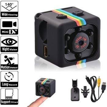 цена на Mini Camera Sq11 HD 1080P  Sensor Night Vision Camcorder Motion DVR Micro Camera Sport DV Video Small Camera Cam SQ 11 Spycam
