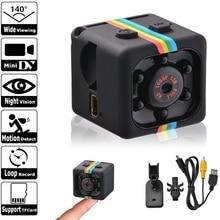 מיני מצלמה Sq11 HD 1080P חיישן ראיית לילה למצלמות תנועה Dvr מיקרו מצלמה ספורט וידאו Dv קטן מצלמה מצלמת Sq 11 Spycam