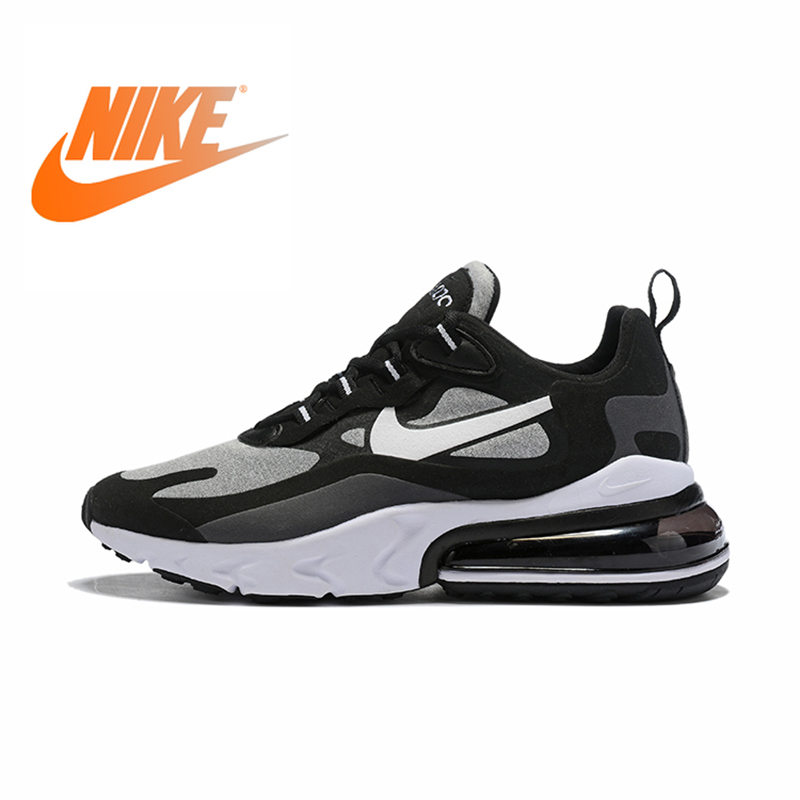 Nike Air Max 270 React New Arrival Men Running Shoes Air Cushion Outdoor Sports Sneakers Comfortable 2019 New AO4971-001