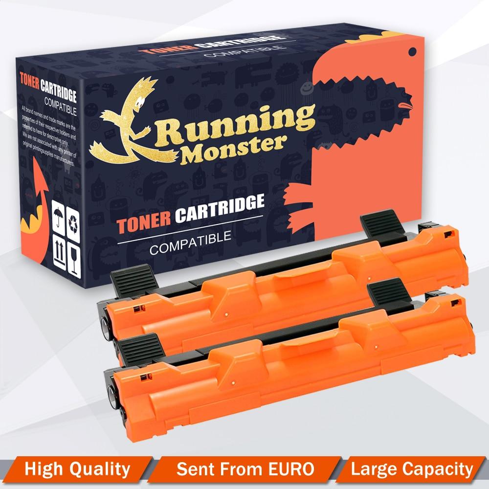 2pcs Black Compatible Toner Cartridge For Brother TN1050 1050 For HL-1212W HL-1110 HL-1112 MFC-1910W MFC-1810 DCP-1612W