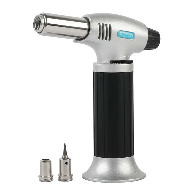 Automatic 3 In-1 Multifunction Auto-ignition Gas Soldering Iron Welding Hot Air Guns Flame Adjustable Switching