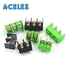 5PCS KF7.62 2P 3P 4P Terminal Connector Screw Spliced Pitch 7.62MM 2PIN 3PIN 4PIN For Arduino