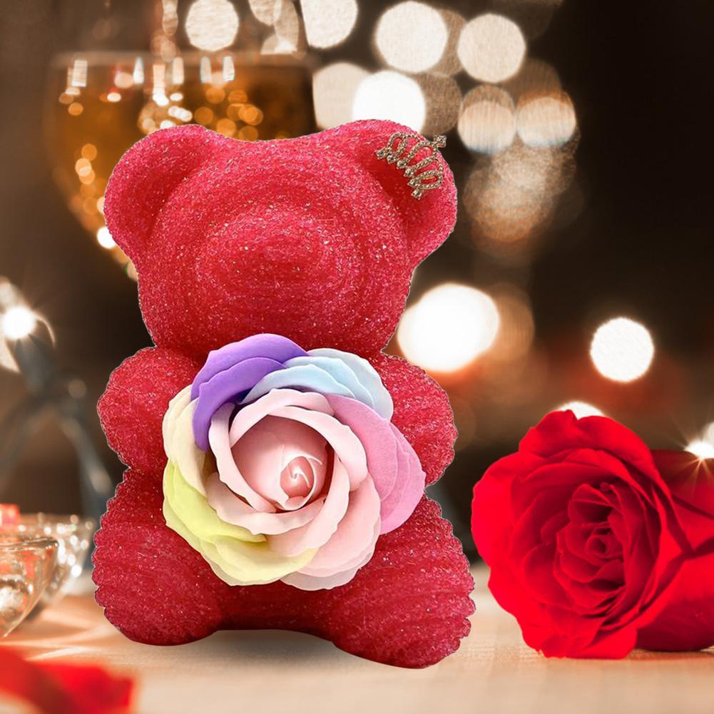 Paquete De 10 Mini Brillo Rosas