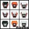 LED Enduro Dirt Bike Motocross 12V E8 Emark Headlight Fairing  Headlamp For Yamaha Kawasaki KTM MX EXC 450 SX WR DRZ KLX KX YZ F promo