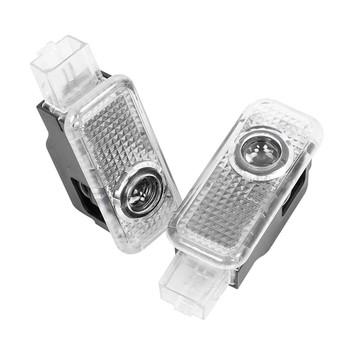 LED drzwi auta witamy lampa projekcyjna dla Audi A4 B5 B6 B7 B8 B9 Q3 Q5 Q7 Q8 A6 C5 C6 C7 A1 A3 8V V8 8P 8L TT A5 A7 A8 80 90 100 tanie i dobre opinie CN (pochodzenie) Światło na powitanie Car Accessories Decoration For Audi Sline S LINE Quattro RS5 RS6 12 v 5 5cm 36 cm