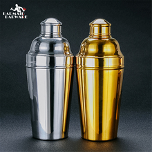 1.8L Big Cocktail Shaker Polish Silver 304 Stainless Steel Boston Shaker: 3-piece Set