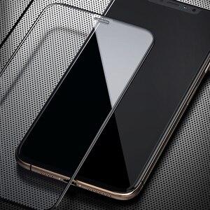 Image 4 - Benks toz önleme ekran koruyucu için iPhone 11/11Pro/11ProMax/Xr/Xs Max tam kapsama anti mavi Litght temperli cam filmi