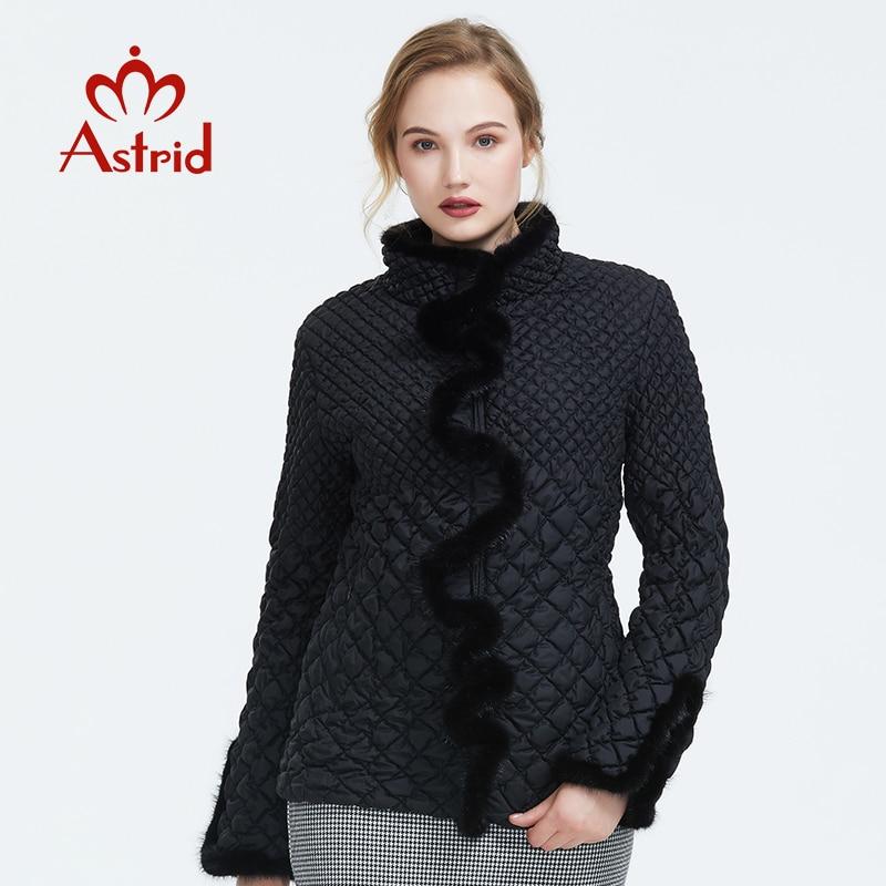 Astrid 2019 jesień new arrival kobiety kurtka odzież wierzchnia wysokiej jakości krótki styl nowy moda jesień płaszcz kobiety AM 8828 w Parki od Odzież damska na  Grupa 1
