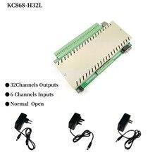 Módulo de automatización de domótica H32L Kit PLC, interruptor de Control de relé, sistema de seguridad domótica Casa Hogar Inteligente IOT