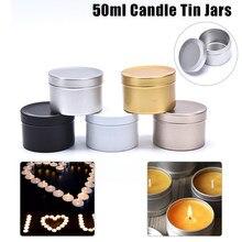 Kerze Gläser mit Deckel Groß Runde Kerze Container Dosen Leere Lagerung Box Jar