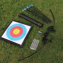 Arc Recurve professionnel à emporter, pour la chasse, en métal, pour le sport, cible à larc en plein air