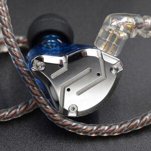Image 5 - KZ ZS10 PRO 1DD+4BA HIFI Metal Headset Hybrid In Ear Earphone Sport Noise Cancelling Headset AS10 ZSN PRO CA16 ZSX C12 V90 VX T4