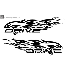 1Pc Driver letter Totem Auto Sticker Car Body Racing Side Door Long Stripe Stickers Auto Vinyl Decal  Totems Car Decal hotmeini 2x long spear totem art of ancient weapons striped car sticker for motorhome suv truck kayak canoe vinyl decal 9 colors